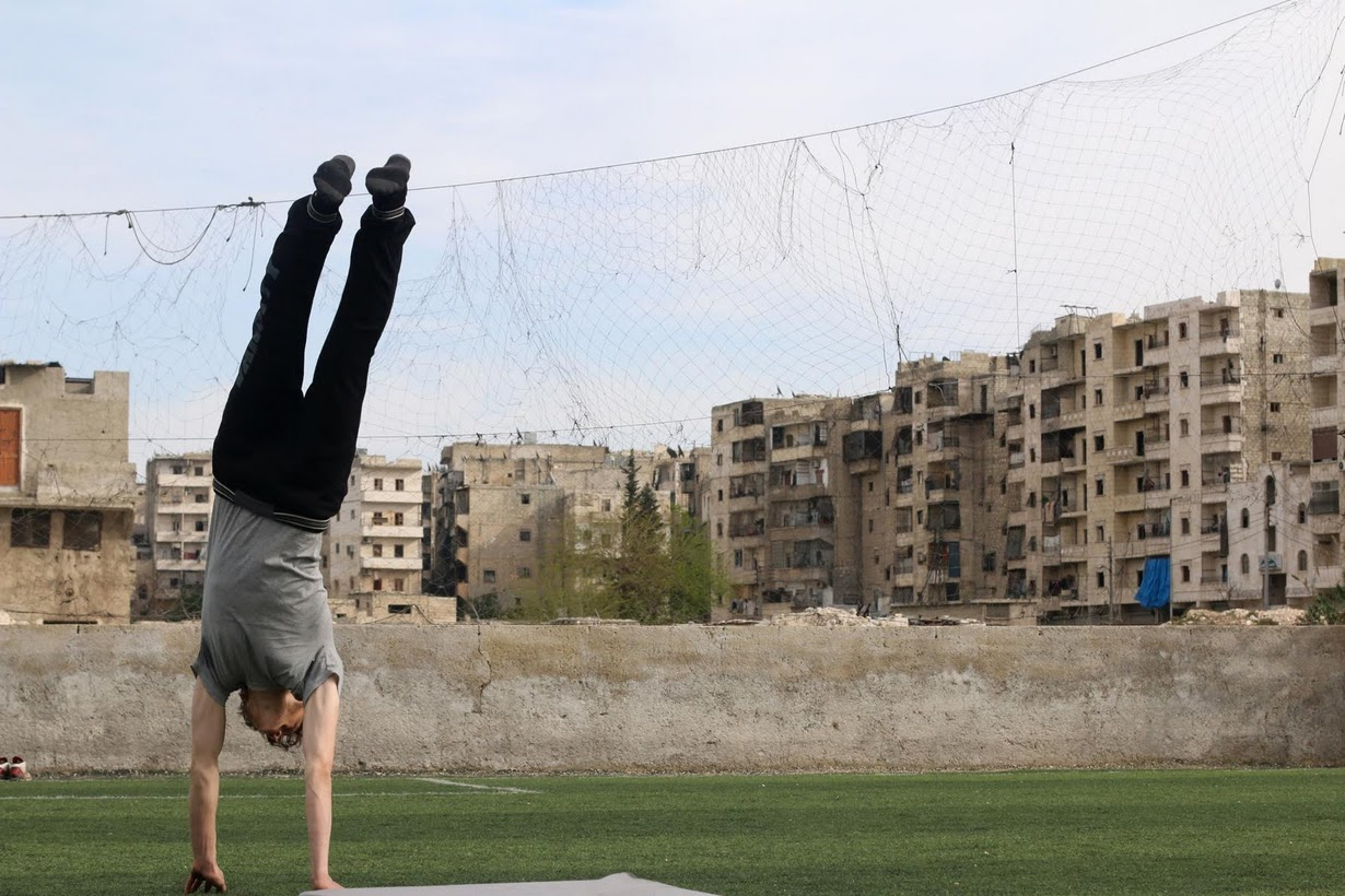 Syrian athletes & Olympic  dreams