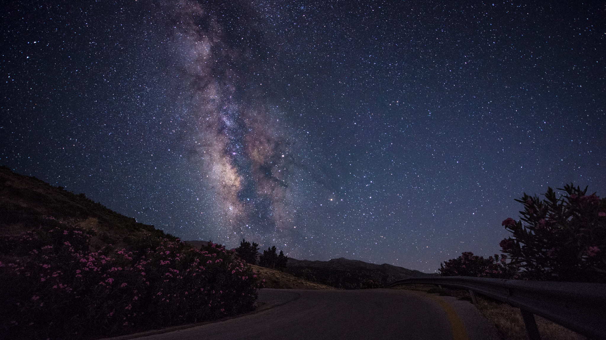 the road of Milky way