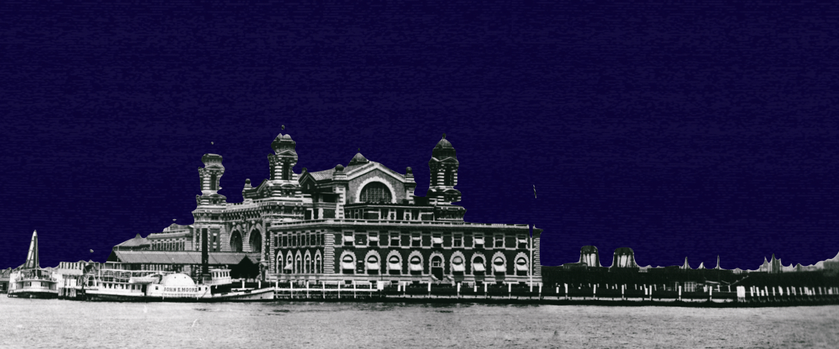 ELLIS Island. Looking for a new life
