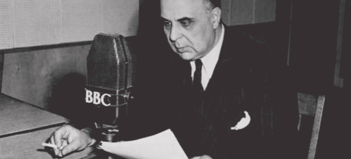 George Seferis's statement denouncing the Colonels' regime