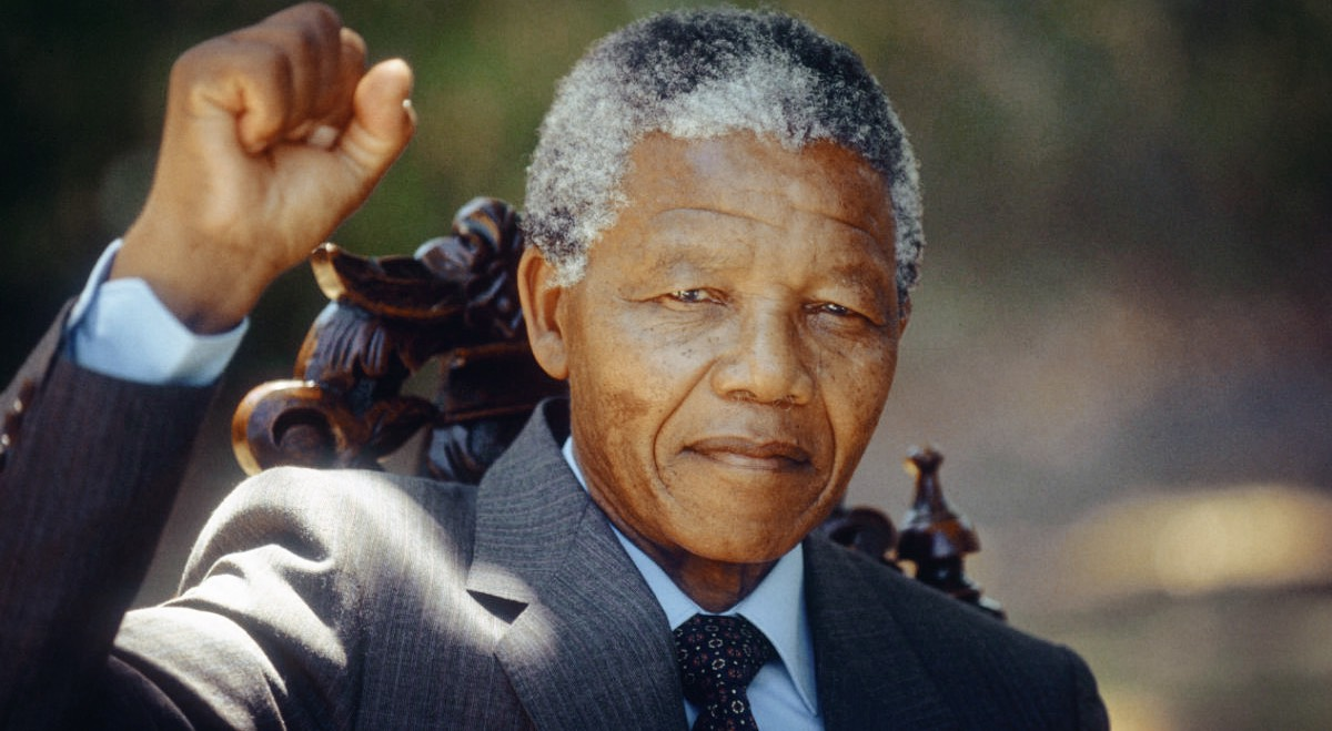 Nelson Mandela inspired by Greeks