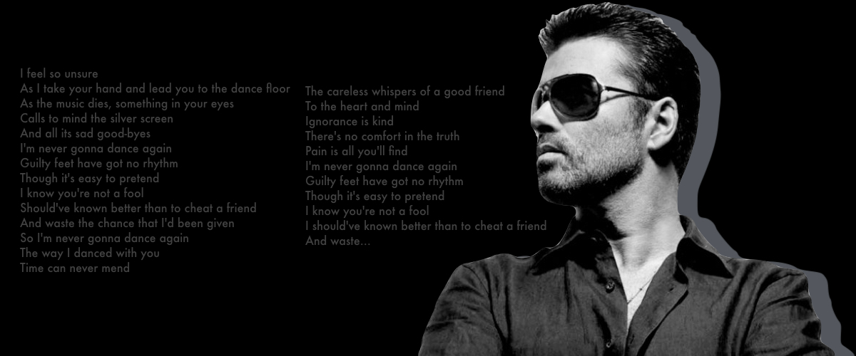 Six whispers by George Michael